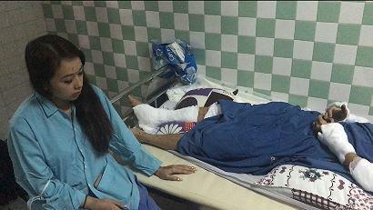 Chị Nguyễn Thị Ngọc Trâm, bạn anh Nghiêm mong muốn cơ quan chức năng sớm tìm ra hung thủ trong vụ việc kinh hoàng (Ảnh TP.)
