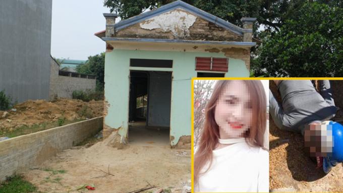 Ngôi nhà hoangđâu tiên nữ sinh bị giam dữ và bị 3đối tượng hãm hiếp.