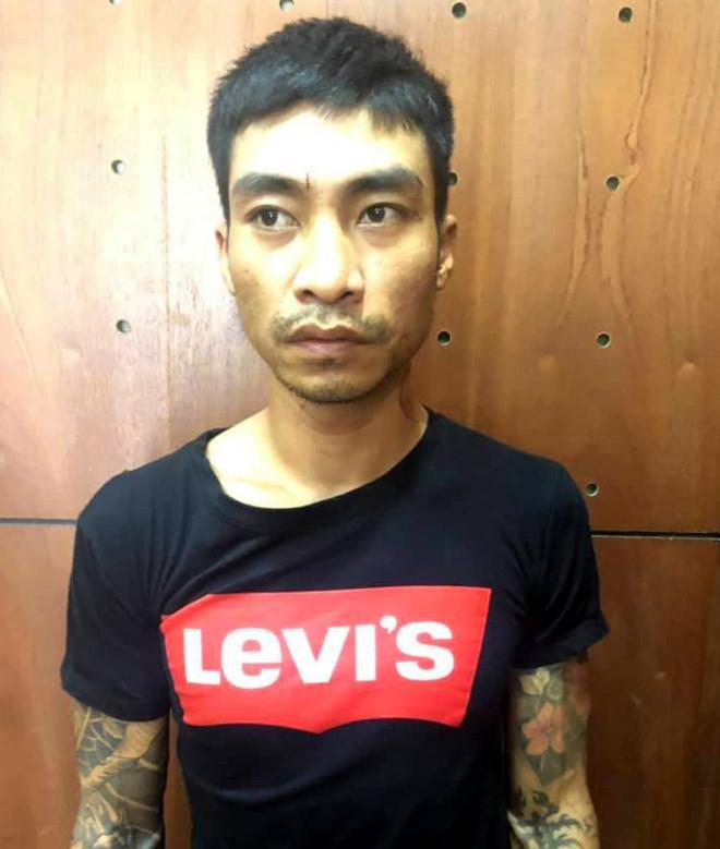 Trần Ngọc Minh bị cơ quan Công an bắt giữ.Ảnh cơ quan công an cung cấp.