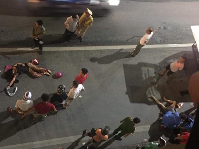 Một vụ tai nạn giao thông nghiêm trong cướpđi tính mạng của 2 người phụ nữ tại hầm Kim Liên, Hà Nội xảy ra vào ngày 1/5.