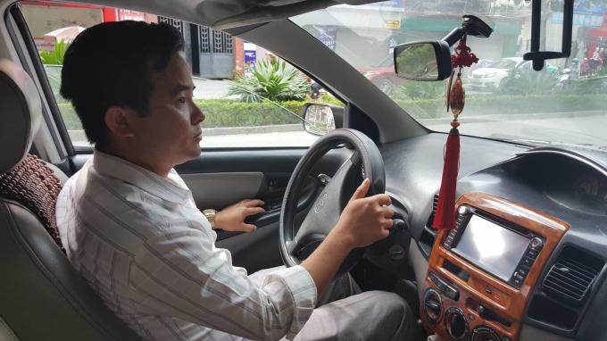 Thầy giáo dạy lái Tuấn Anh.