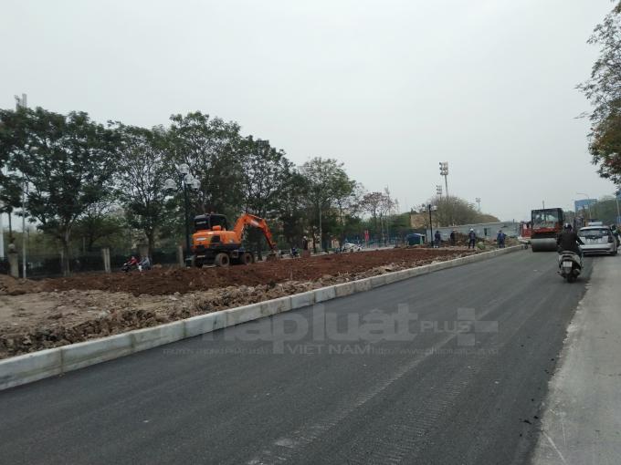 Dự án Cóng hóa mưng nước Nguyễn Cơ Thạch và mở rộng đường Đỗ Xuân Hợp được Công ty Cố phần đầu tư và xây dựng Xuân Mai trúng thầu.