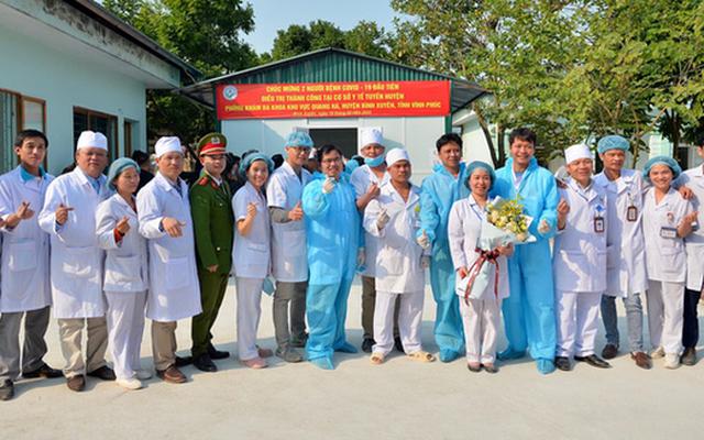 Thêm 11 ca mắc COVID-19 ở Việt Nam được công bố khỏi bệnh. Ảnh Internet.