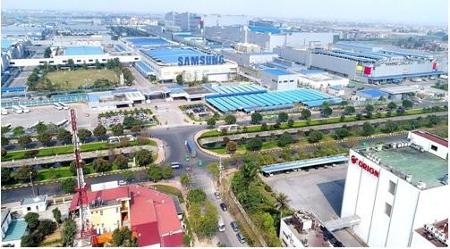Bắc Ninh sở hữu sự hiện diện của hàng loạt thương hiệu toàn cầu như Samsung, Canon, Hanwha, Pepsico…