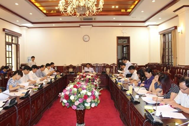 Tổ biên tập Dự án Luật TNBTCNN họp phiên thứ 4.