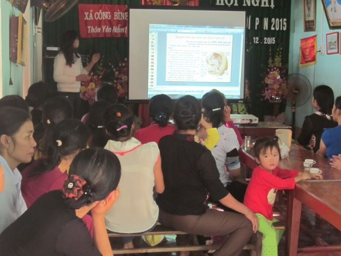 Đây là một trong số hàng trăm cuộc hội thảo đã được tổ chức tại nhiều vùng nông thôn của của Cty dược Trường An.