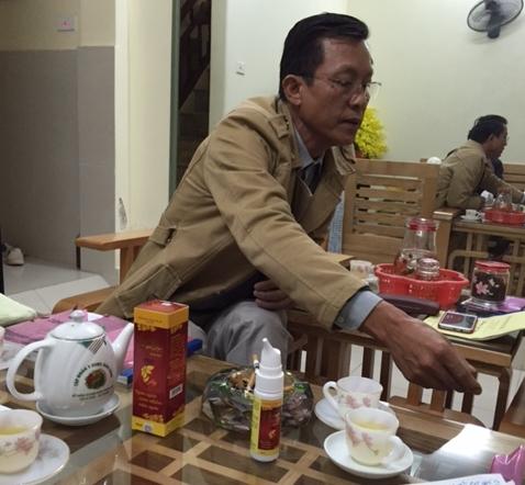 Ông Phạm Hồng Hà - GĐ Cty dược Trường An.