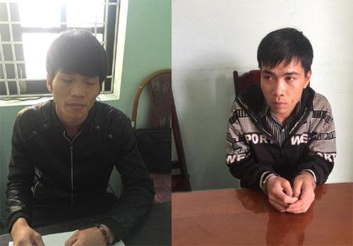 2 lái xe gây TNGT bỏ trốn bị bắt giữ: Hoàng Văn Trí, Thái Thanh Bình.
