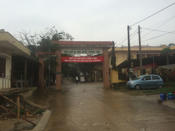 Bệnh viện đa khoa Thường Xuân.