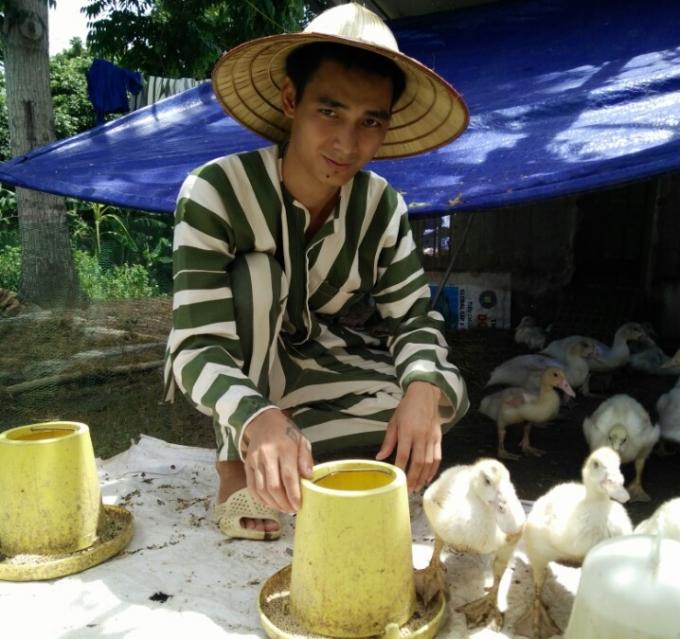 Phạm nhân Phạm Đình Duẩn.