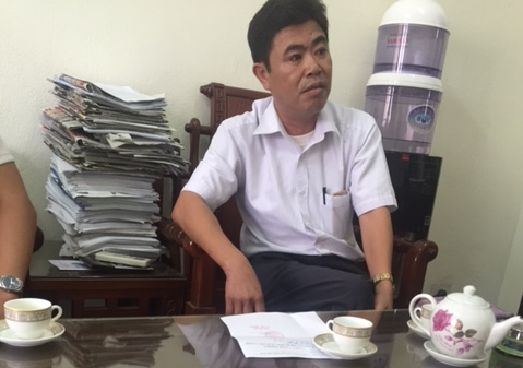 Ông Điển - Giám đốc BV đa khoa huyện Yên Khánh.