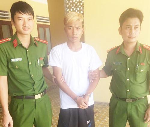 Đối tượng Tuyền đã bị cơ quan Công an huyện Tĩnh Gia bắt giữ.