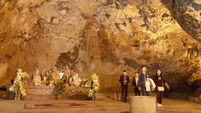 Tương truyền Chùa Động Am Tiên từng là nơi Thái hậu Dương Vân Nga tu hành cuối đời.