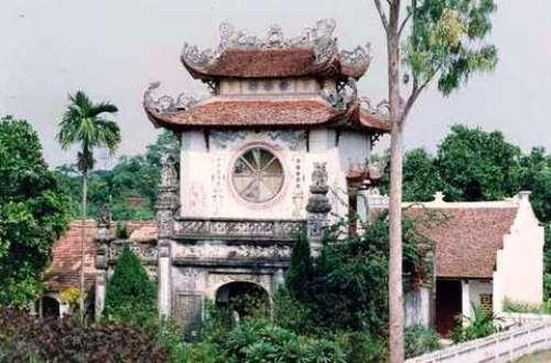 Chùa Mễ Sở vừa bị nhóm đạo trích đột nhập lấy đi bức tượng Phật bà quan thế âm nghìn tay nghìn mắt. Ảnh Tư liệu