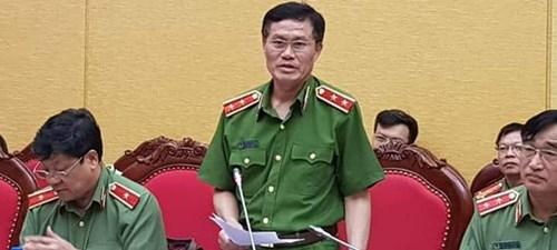 Trung tướng Đỗ Kim Tuyến thông tin về lý do khởi tố Nhà báoDuy Phong.