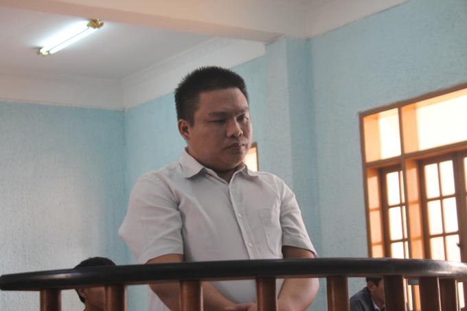 Bị cáo Lê Quốc Dũng (32 tuổi, trú tại phường Tây Sơn,TP Pleiku, tỉnh Gia Lai).