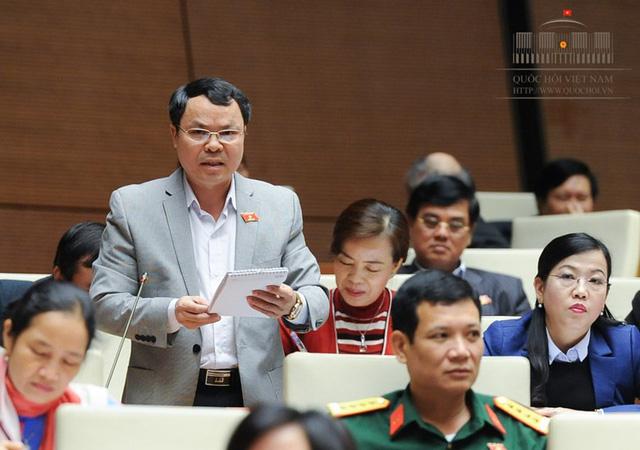 Đại biểu Quốc hội Nguyễn Tiến Sinh (Ảnh: Quochoi.vn)