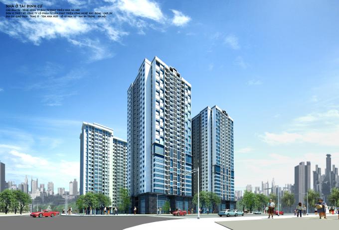Dự án ĐTXD Nhà ở tái định cư tại ô đất A14 khu đô thị Nam Trung Yên, Cầu Giấy, Hà Nội