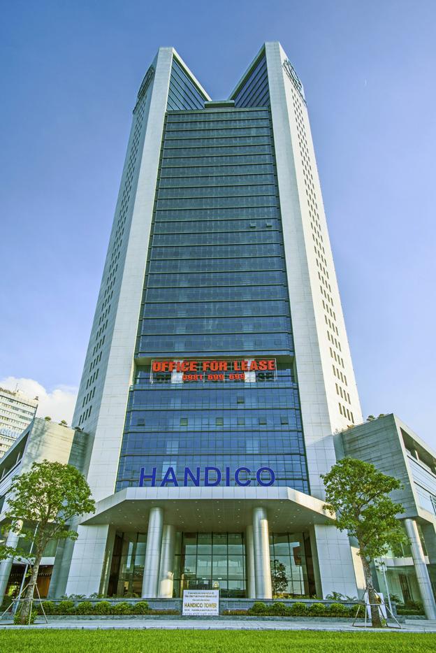 Tòa nhà Văn phòng Cho thuê Handico Tower, đường Phạm Hùng, quận Nam Từ Liêm, Hà Nội