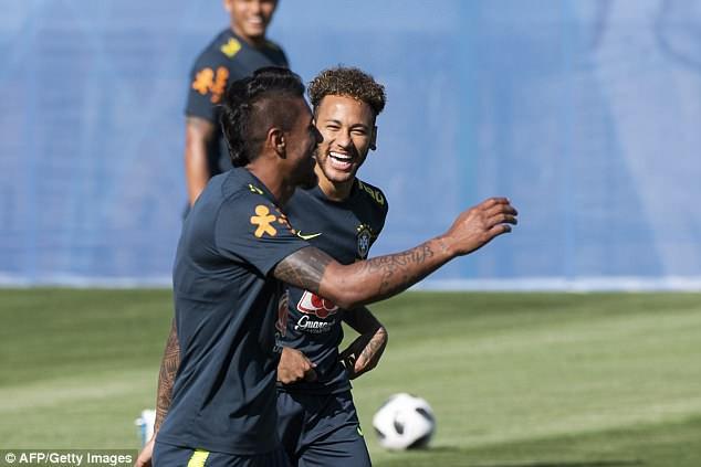 Neymar được cư dân mạng bầu chọn là cầu thủ nhiều khả năng nhất trong việc giành Quả bóng vàng World Cup 2018