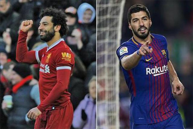 Màn đối đầu của Salah và Suarez hứa hẹn sẽ rất hấp dẫn.