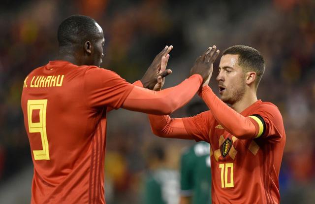 Đội tuyển Bỉ với nhiều ngôi sao đang được kỳ vong ở giải đấu lần này.