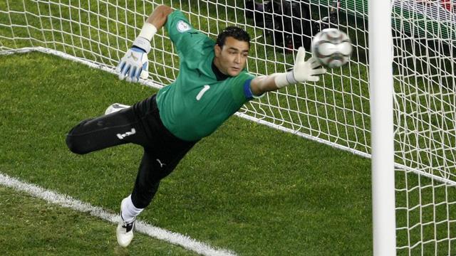 Essam El-Hadary vẫn thi đấu tốt ở tuổi 45