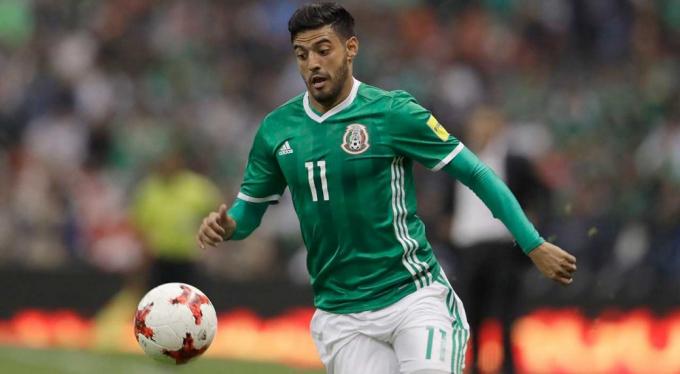Carlos Velalà cầu thủ quan trọng nhất của Mexico. Ảnh: AP