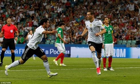 ĐT Đức từng đè bẹp ĐT Mexico 4-1 trên đất Nga cách đây 1 năm. Ảnh: Reuters