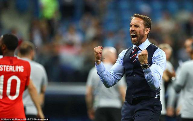 HLV Gareth Southgate hài lòng về màn trình diễn của các cầu thủ Anh trước Tunisia