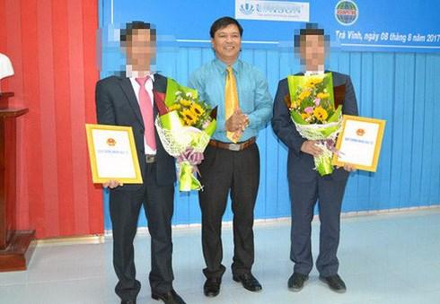 Ông Phạm Văn Tám, cựu Chủ tịch UBND TP Trà Vinh. ẢnhCTV.