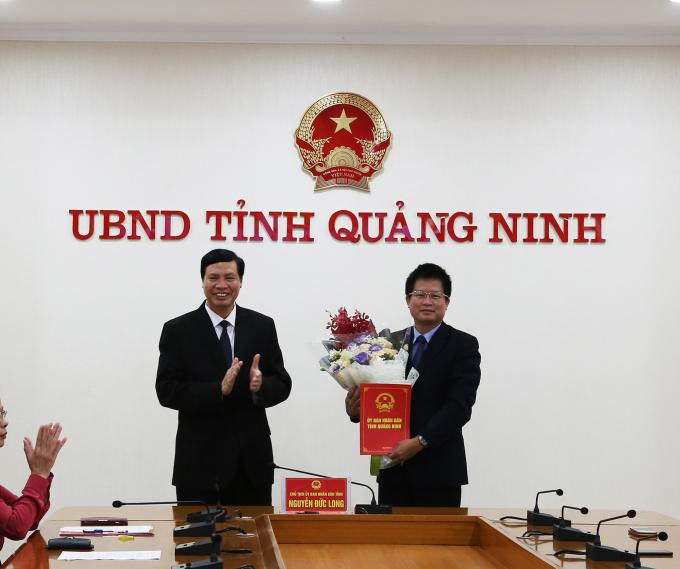 Nhân sự mới Hà Nội, Long An, Quảng Ninh, Hà Tĩnh