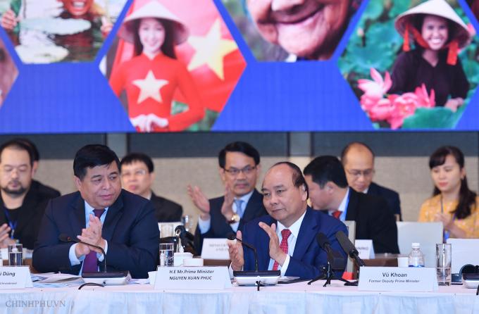 Thủ tướng Nguyễn Xuân Phúc dự Diễn đàn Cải cách và Phát triển Việt Nam (VRDF) 2018.