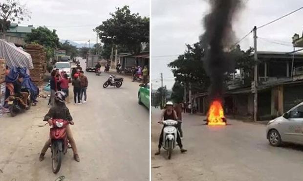 Tưới xăng đốt xe người khác sau va chạm giao thông có thể bị xử lý hình sự?