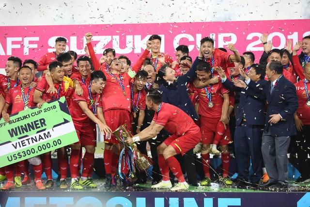 Đội tuyển Việt Nam mới giành chức vô địchvô địch AFF Cup 2018.