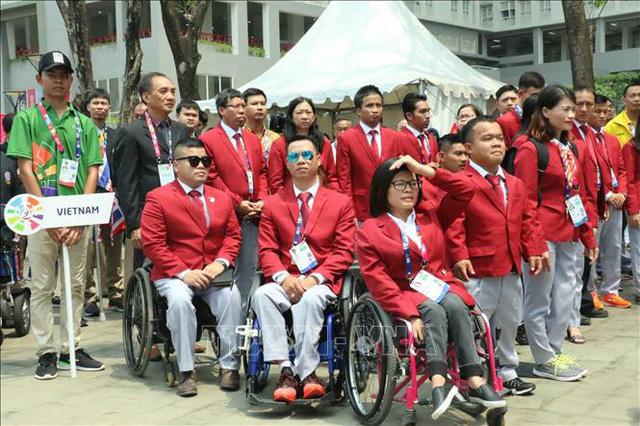 Đoàn Việt Nam giành 8 HCV, 8 HCB và 24 HCĐ ở Asian Para Games 2018.