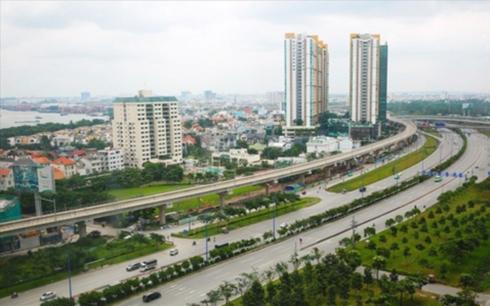 Tuyến metro Bến Thành - Suối Tiên đang được hoàn thiện.