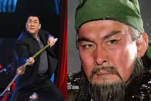 Lục Thụ Minh thể hiện nhân vật Quan Vũ, ông được gọi là