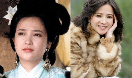 """Diễn viên Hà Tình đóng Tiểu Kiều trong phim. Cô được xem là diễn viên hiếm hoi góp mặt trong """"Tứ đại danh tác Trung Quốc"""". Ngoài Tam Quốc, Hà Tình đã đóng các phim chuyển thể từ các danh tác cổ điển khác là Hồng lâu mộng, Thủy Hử, Tây du ký. Nữ diễn viên kết hôn năm 1995 và ly hôn năm 2001, khi đã có một con trai. Những năm gần đây, cô tiếp tục góp mặt trong các sản phẩm điện ảnh, truyền hình."""