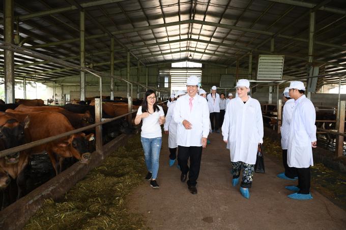 Chính nhờ sự hợp tác khăng khít giữa Sữa Cô Gái Hà Lan và các đối tác mà dự án ngày càng phát triển, tạo lập nên những giá trị tốt đẹp cho cả cộng đồng.