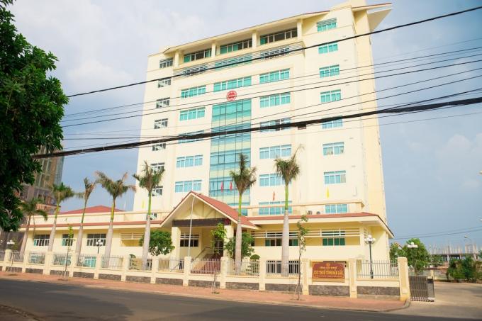 Cục Thuế tỉnh Đắk Lắk thu ngân sách nhà nước ước đạt 403 tỷ đồng trong tháng 3. (Ảnh: Báo Đắk Lắk điện tử)
