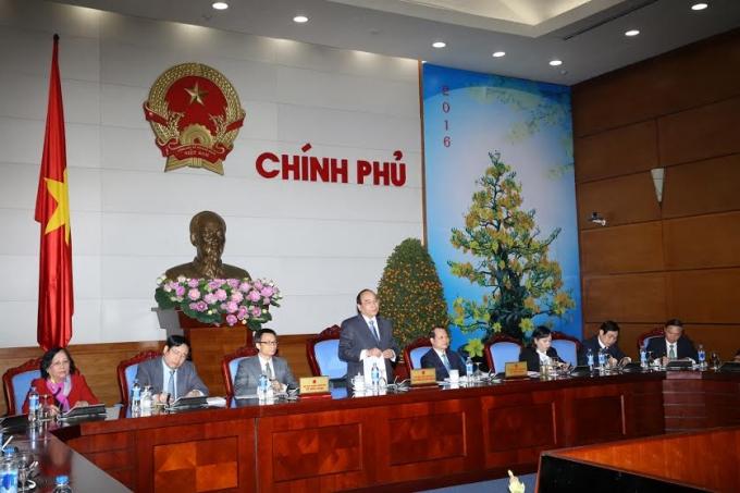Phó Thủtướng Chính phủ Nguyễn Xuân Phúcđánh giá về công tác bảo đảm Tết BínhThân 2016 và triển khai các nhiệm vụ trọng tâm sau Tết.