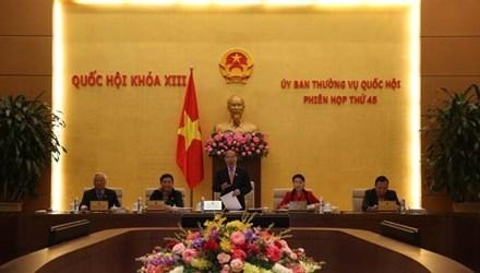 Uỷ ban Thường vụ Quốc hội không đồng ý lùi Dự án Luật Biểu tình.