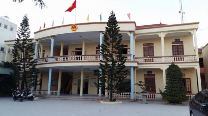 Trụ sở UBND phường Đằng Lâm.