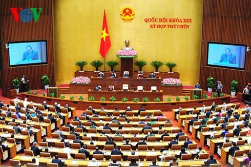 Kỳ họp thứ 9, Quốc hội khóa 13.