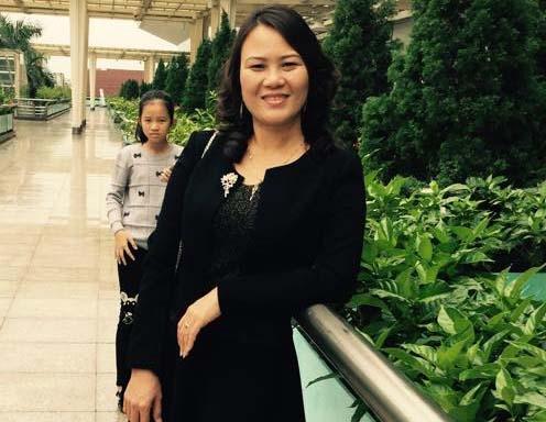Cô Đoàn Thị Hồng Thủy.