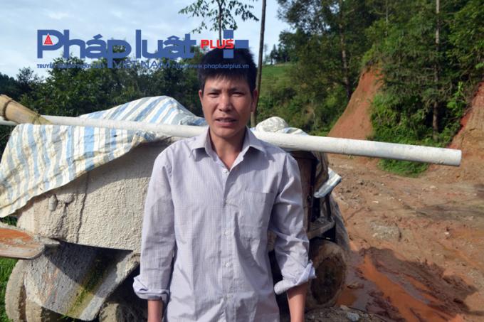 Anh Phong cho rằng nhà thầu thi công kém chất lượng.