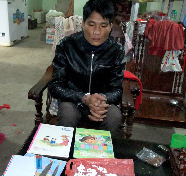 Đối tượng Quân. (Ảnh: Baohagiang.vn).