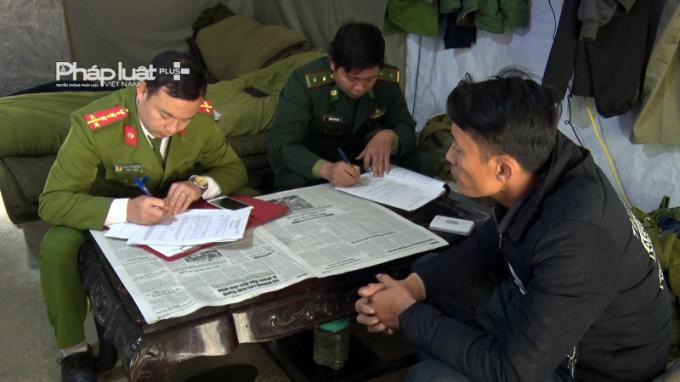 Lực lượng chức năng đã lập biên bản và thu giữ số tang vật trên.
