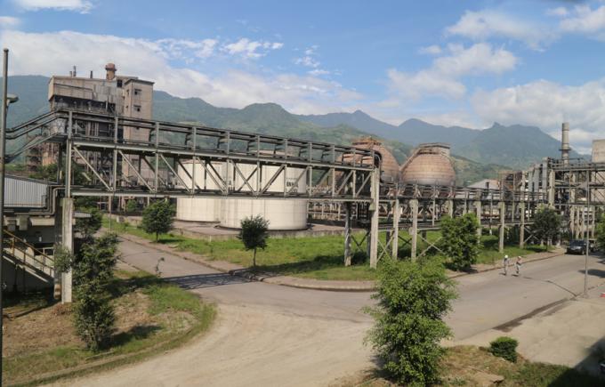 Nhà máy DAP số 2 thuộc Công ty Cổ phần DAP số 2 - Vinachem. (Ảnh: Báo Lào Cai).